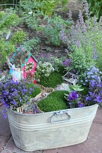 This Fairy Garden ...