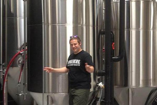 Davin Bartosch, the Brewmaster