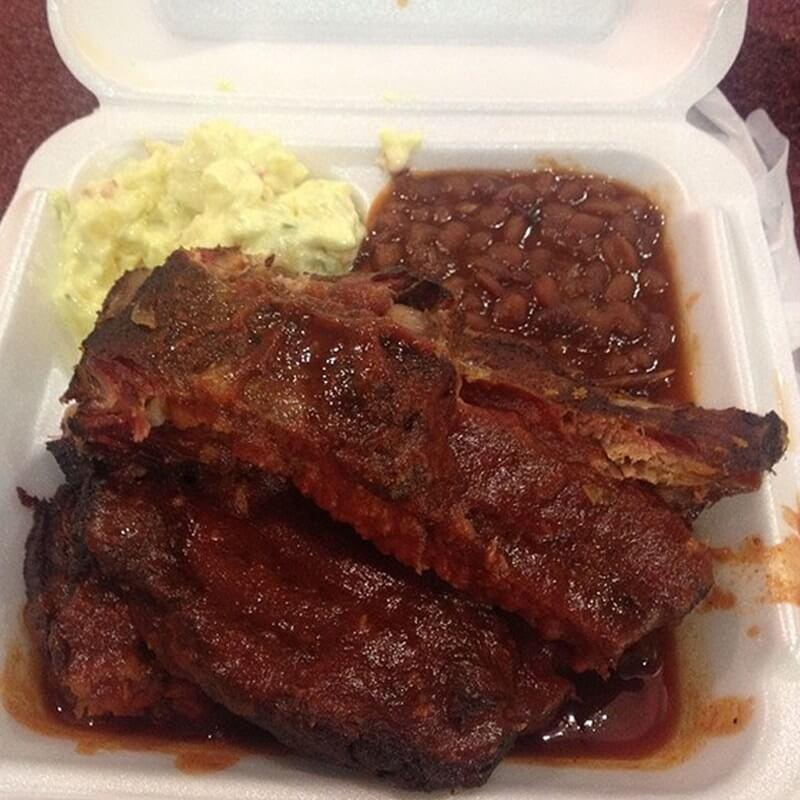 Neelys BBQ ribs