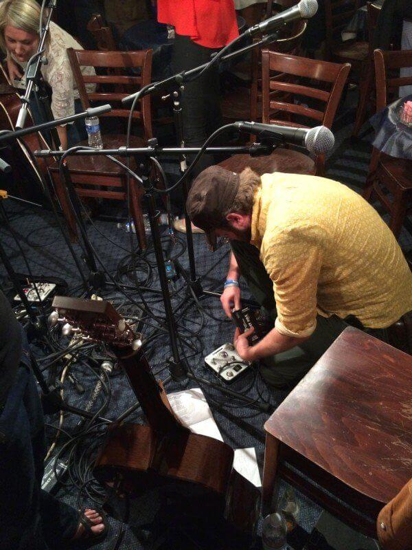 Clint Alphin at the Bluebird Cafe in Nashville, TN.