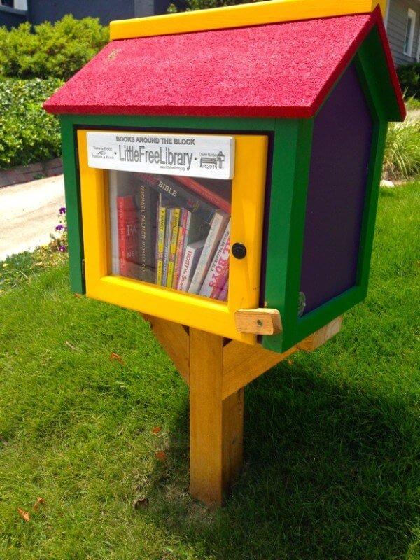 A Little Free Library in Atlanta