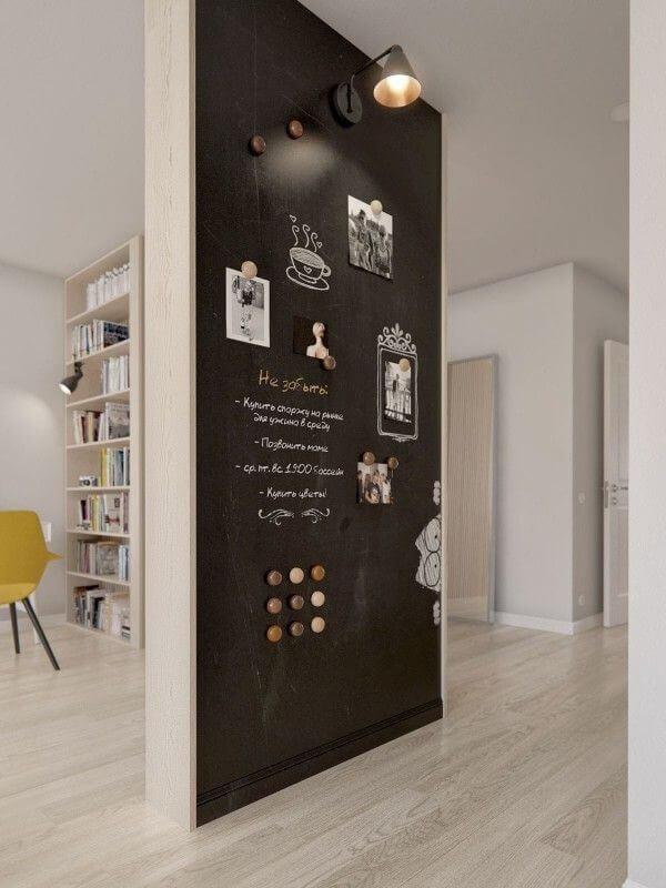 Midcentury Scandinavian Chalkboard