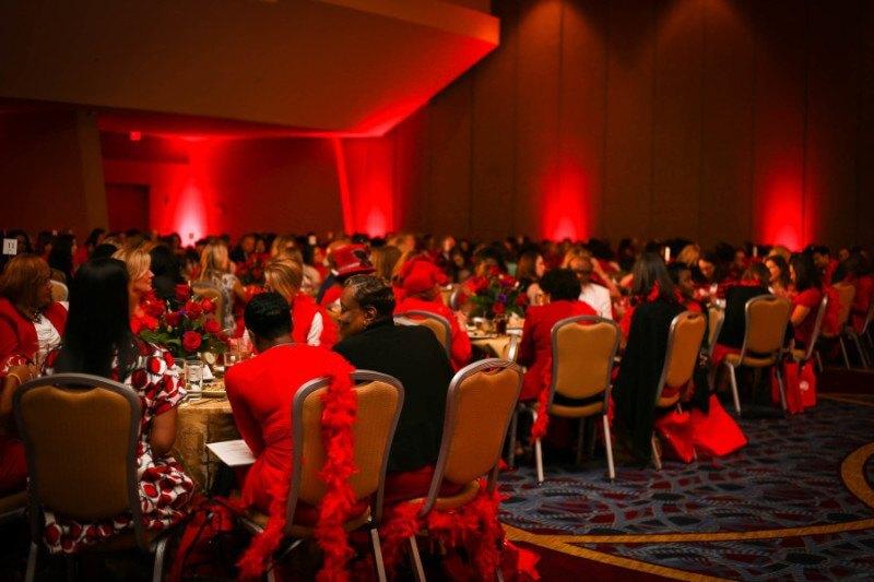 Go Red 2015 ballroom