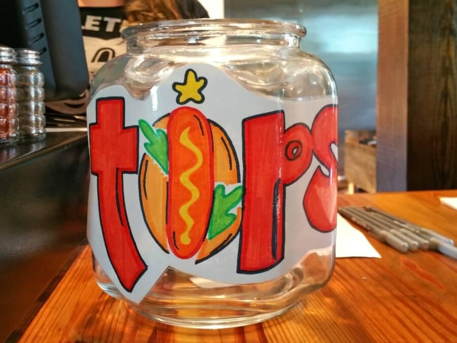 Hot dog tips go here!