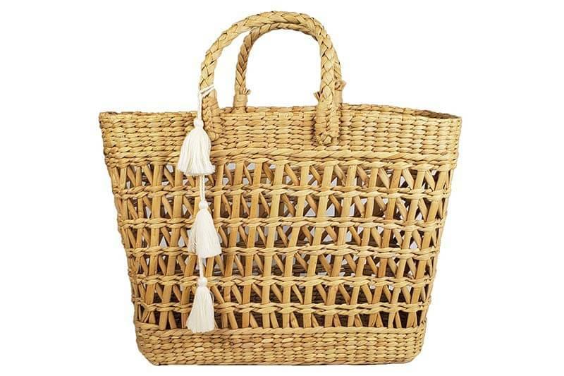 Straw Open Bag